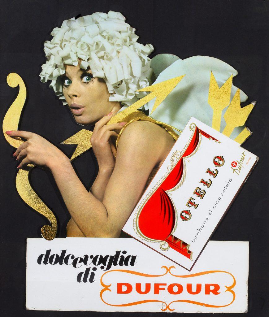 Minnie Minoprio - Pubblicità Dufour - 1970