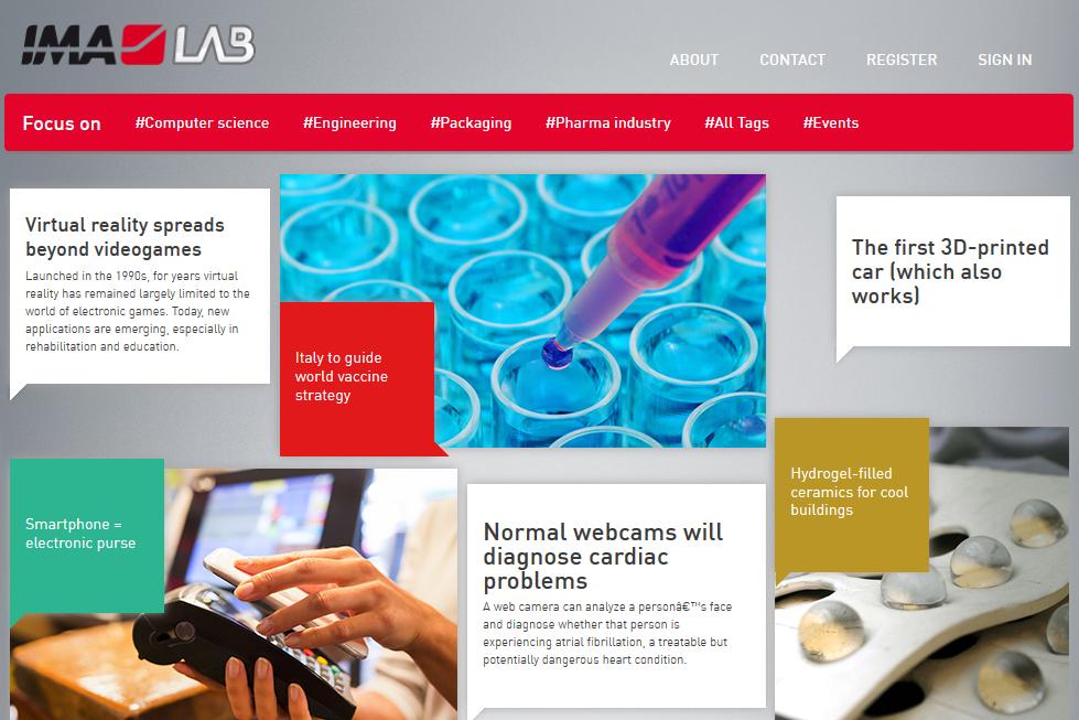 IMA Pharma - Sito web ImaLab