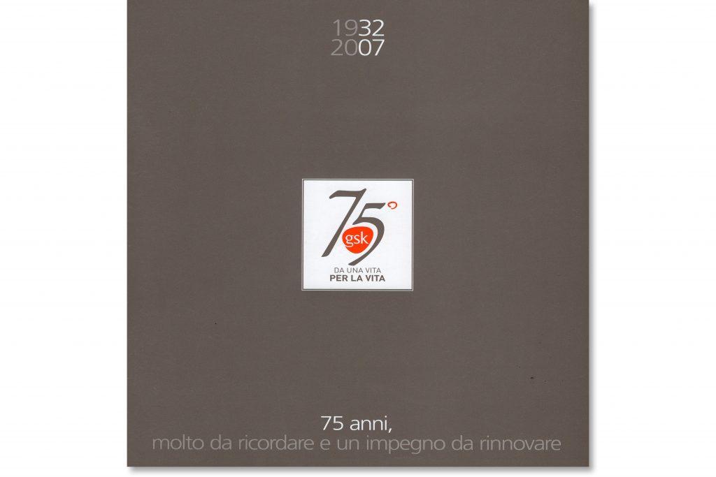GSK, Brochure per i 75 anni in Italia