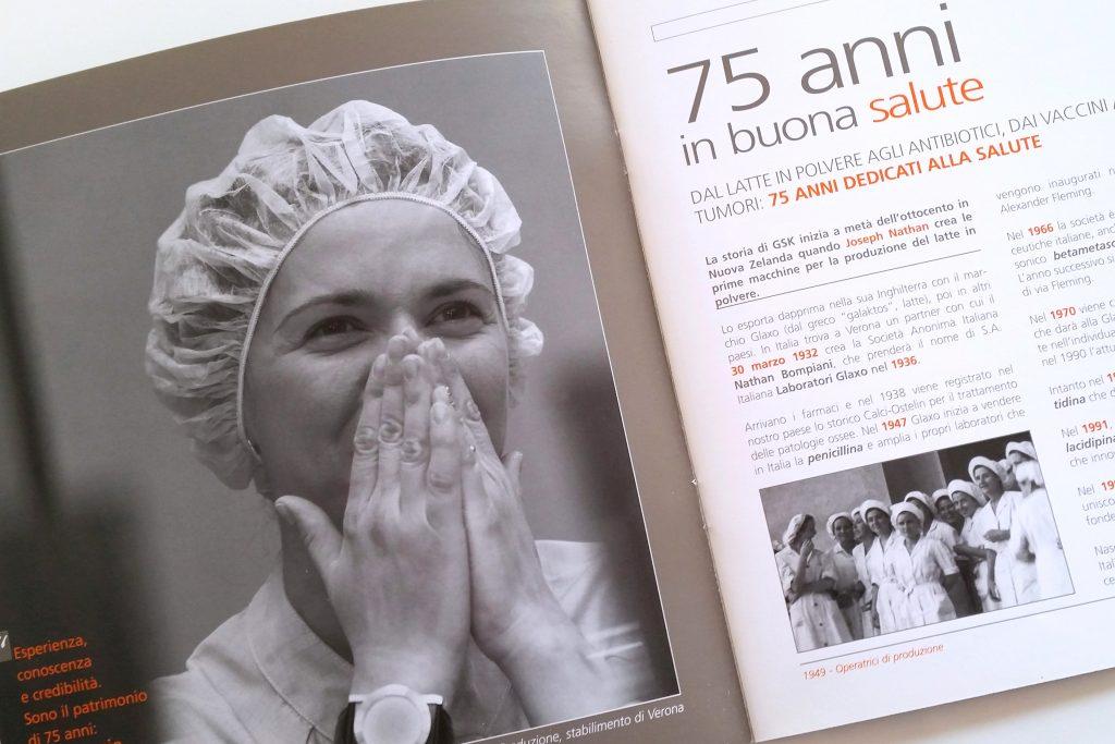 GSK - Brochure per i 75 anni
