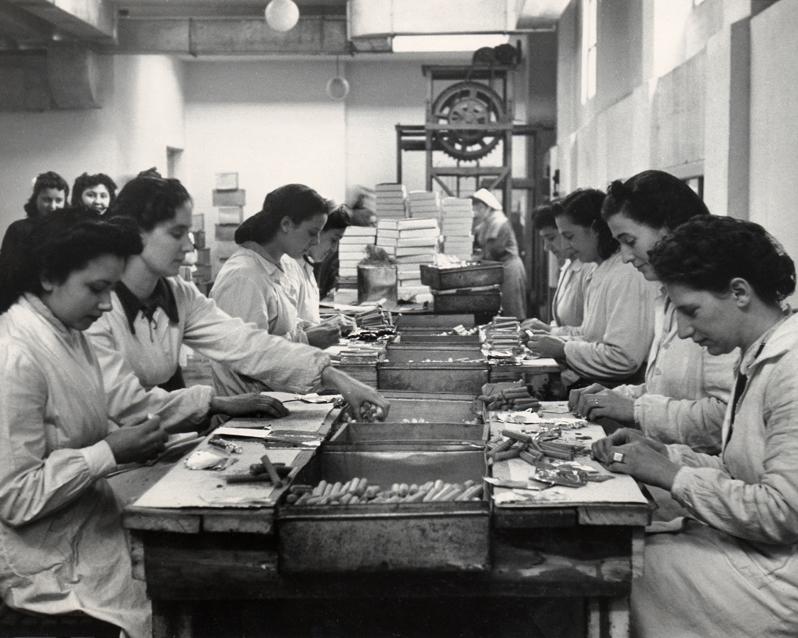Saiwa, Operaie al Confezionamento, anni '40