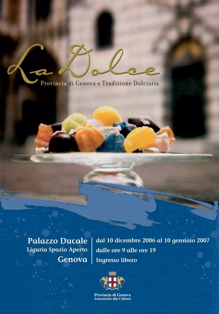 Genova la Dolce - Manifesto mostra