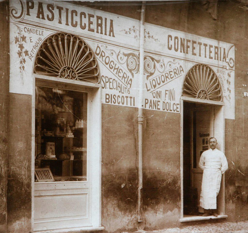 Pasticceria Tagliafico Genova 1909