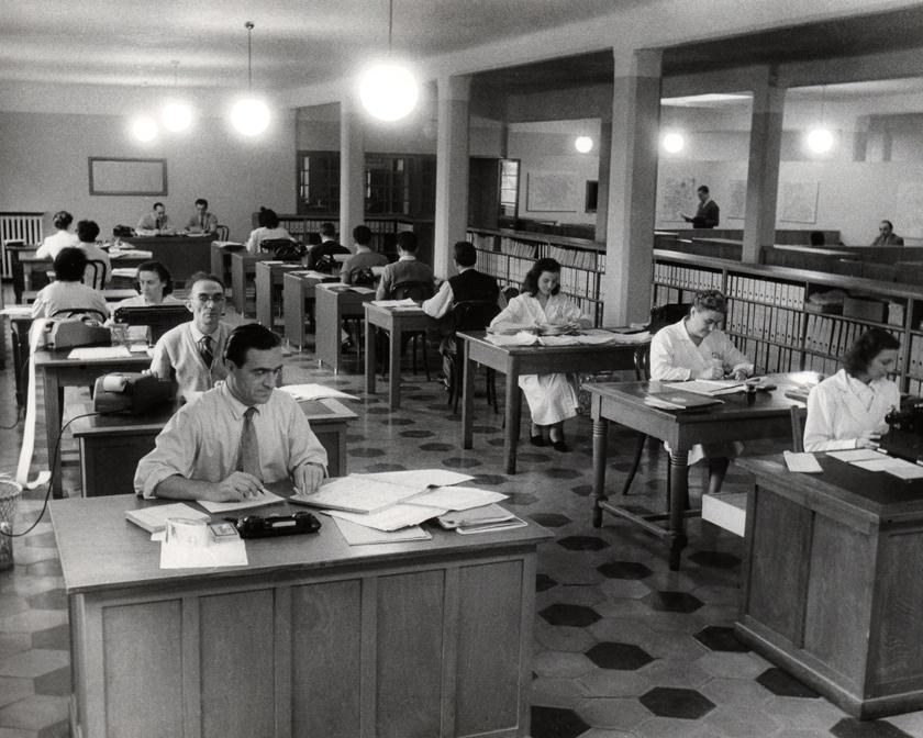 Saiwa Uffici anni '50