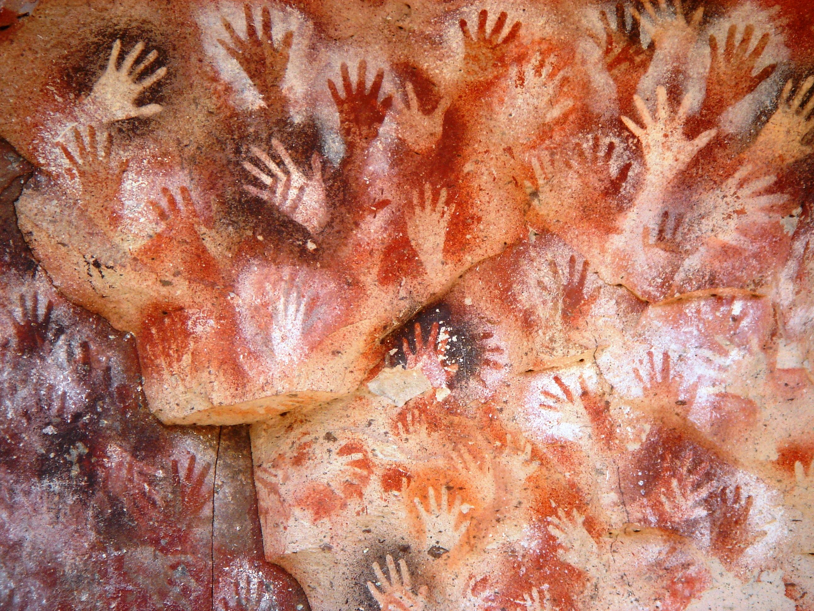La caverna delle mani